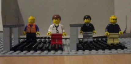 Ok Go – Here it goes again (with Legos)